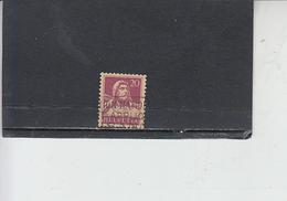 SVIZZERA  1916-22 - Unificato  162° - Tell - Svizzera