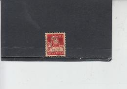 SVIZZERA  1924-28 - Unificato  203° - Tell - Svizzera