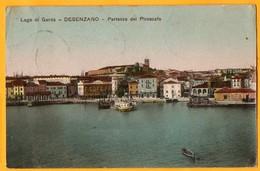 DESENZANO-BRESCIA-PARTENZA DEL PIROSCAFO-LAGO DI GARDA-FP - Altre Città