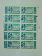 Portugal Loterie Populaire SPECIMEN Costume Baixo Alentejo Beja Berger 17.10.1989 RARE Lottery Shepherd - Billets De Loterie