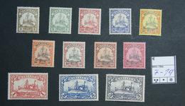 Marianen Nr. 7 - 18  Postfrisch - Colonia:  Isole Marianne