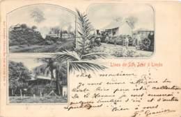 Costa Rica / 32 - Linea De San José A Limon - Belle Oblitération - Costa Rica