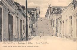 Cuba - Santiago / 6 - Street Padre Pico - Cuba