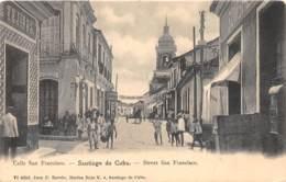 Cuba - Santiago / 7 - Street San Francisco - Cuba