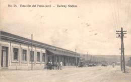 Cuba - Santiago / 10 - Estacion Del Ferro Carril - Cuba