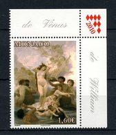 MONACO 2009 N° 2708 ** Neuf MNH  Superbe Art Le Nu Peinture Naissance De Vénus Bouguereau Tableaux Painting - Monaco