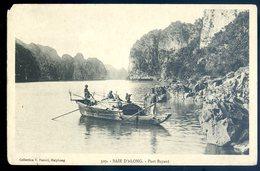 Cpa Du  Viêt Nam Baie D' Along Port Bayard    YN38 - Viêt-Nam