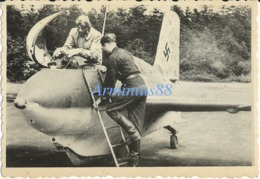 """Luftwaffe - Messerschmitt Me 163 B-1 """"Komet"""" - Intercepteur à Moteur-fusée - Guerre, Militaire"""
