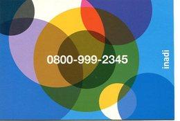 NUMERO DE TELEFONO INADI PARA DENUNCIAR DISCRIMINACION XENOFOBIA RASISMO ARGENTINA POSTAL PUBLICIDAD - LILHU - Reclame