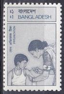 Bangladesch Bangladesh 1987 Medizin Medicine Gesundheit Health Impfung Vaccination Krankenschwester Nurse, Mi. 259 ** - Bangladesch