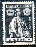 !■■■■■ds■■ Téte 1914 AF#26* Ceres 1/2 Centavo (x4304) - Tete