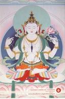 AVALOKITESHVARA BUDISMO CAMINO DEL DIAMANTE LINAJE KARMA KAGYU ARGENTINA POSTAL PUBLICIDAD - LILHU - Bouddhisme