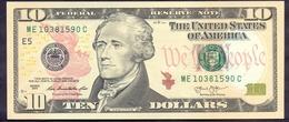 USA 10 Dollars 2013 E  - UNC # P- 540 < E - Richmond VA > - Billets De La Federal Reserve (1928-...)