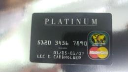 Credit Card-SAMPLE Card-(5120-3456-7890-1234)+1card Prepiad Free - Cartes De Crédit (expiration Min. 10 Ans)