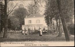UCCLE :  Château St Job - La Terasse CARTE DVD !! - Ukkel - Uccle