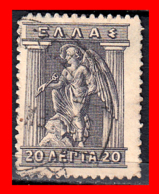 GRECIA – GREECE   SELLO 1913-23 - IRIS HOLDING CADUCEUS - Grecia