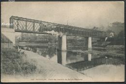 Besançon - Pont Du Chemin De Fer Du Morteau - 142 - Voir 2 Scans - Besancon