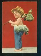 Ed. D3 Nº 1913-10. Fabricación Italiana. Escrita. - Niños