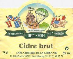 50 - YVETOT BOCAGE - La CHESNAIE - Cidre Brut - Débarquement En Normandie - Autres