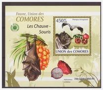0073 Comores 2009 Vleermuizen Bats S/S MNH - Vleermuizen