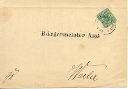 Schlettstadt Lettre De 1879 - Allemagne