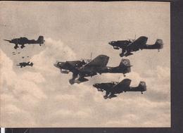 "Postkarte Stukas Ju 87 Beim Angriffsflug .., Luftwaffen - Illustrierte "" Der Adler "" - Duitsland"