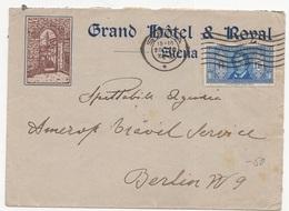 1932 Da Siena Per La Germania - Dante - Storia Postale