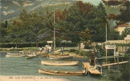 ANNECY LAC BAIE DE TALLOIRES CACHET FOYER DU SOLDAT AU DOS - Annecy