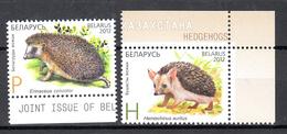 Belarus, Wit-Rusland 2012 Mi Nr 920 + 921 : Egels, Hedgehog, Postfris - Wit-Rusland