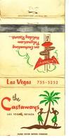 Matchbook Cover ! The Castaways Polynesian Holiday Resort, Las Vegas, Nevada, U.S.A. ! - Boites D'allumettes