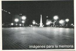 """""""IMAGENES PARA LA MEMORIA"""" PLAZA DE MAYO 1976 ARGENTINA POSTAL PUBLICIDAD - LILHU - Monumenten"""
