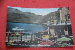 Cuneo Colle Della Maddalena L' Albergo Del Lago 1959 - Andere Städte