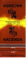 Matchbook Cover !  The Hacienda Hotel & Casino, Las Vegas, Nevada , U.S.A. ! - Cajas De Cerillas (fósforos)