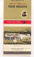 Matchbook Cover !  Frontier Hotel, Las Vegas, Nevada , U.S.A. ! - Matchboxes