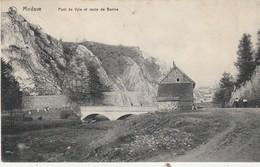 Modave ,  Pont De Vyle Et Route De Bonne - Modave