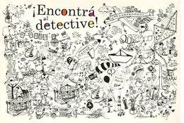 ¡ENCONTRA AL DETECTIVE! LIBRO INFANTIL ESTAMPILLAS 2008 ARGENTINA POSTAL PUBLICIDAD - LILHU - Contemporánea (desde 1950)