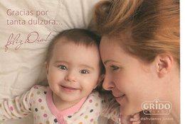 GRACIAS POR TANTA DULZURA ¡FELIZ DIA MAMA! GRIDO HELADOS ARGENTINA POSTAL PUBLICIDAD - LILHU - Moederdag