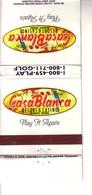 Matchbook Cover ! Casa Blanca Resort Hotel & Casino, Mesquite, Nevada , U.S.A. ! - Cajas De Cerillas (fósforos)