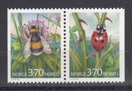 Norwegen 1997 - Insecten, Mi 1235/36, MNH** - Norvège