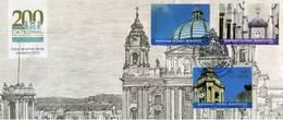 Lote G-F1, Guatemala, 2015, SPD-FDC, Bicentenario Catedral Metropolitana, Iglesia, Church - Guatemala