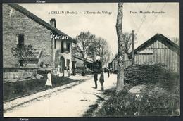 Gellin - L'Entrée Du Village - Tramway Mouthe-Pontarlier - N°° 9 - Voir 2 Scans - France