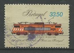 LSJP PORTUGAL 25 YEARS LOCOMOTIVE IRON PATH - 1910-... République
