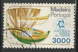 LSJP PORTUGAL BOAT WORLD CONFERENCE ON TOURISM - Used Stamps