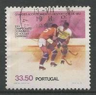 LSJP PORTUGAL XXV WORLD CHAMPIONSHIP OF HOQUEI IN SKATES - 1910-... Republic