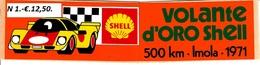 ** IMOLA.-VOLANTE D' ORO SHELL.-1971.-** - Car Racing - F1