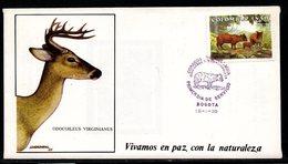 COLOMBIA- KOLUMBIEN - 1986. FDC/SPD.  FAUNA. - Colombie