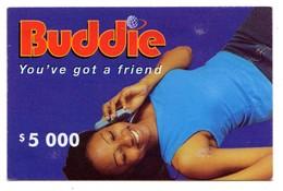 ZIMBABWE PREPAYEE 10 000$ BUDDIE ECONET Année 2004 - Simbabwe
