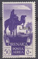 LIBIA (COLONIA ITALIANA) - 1936 -  Yvert Posta Aerea 3 Nuovo MH, Come Da Immagine. - Libia