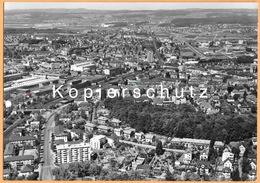 CH - Zürich ZH - Oerlikon Mit Bahnhof - Bahn - Flugaufnahme Swissair - Datiert 1963 - ZH Zurich