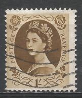 Great Britain 1955. Scott #331 (U) Queen Elizabeth II * - Oblitérés